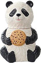 Pacific Trading Chinese Panda Cookie Jar Ceramic