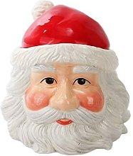 Pacific Trading Christmas Santa Cookie Jar Ceramic