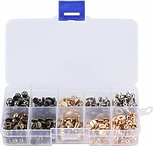 Pacifier Nail Slot Screws Set KQ-402 Flat Screw