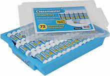 Pack 72 20g Class Master Premium PVP Glue Sticks -