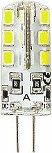 Pack of 1 3 Watt DC 12 V G4 LED light bulbs,
