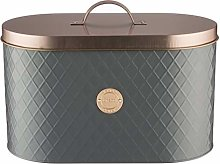 (Pack of 1) Copper Lid Bread Bin with Lid Included