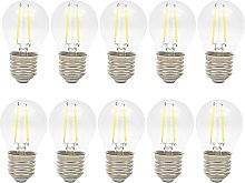 Pack of 10 2W E27 Vintage Retro Edison LED