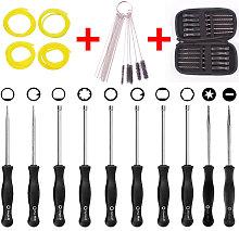 Pack of 10 Carburetor Adjustment Tool + Carrying