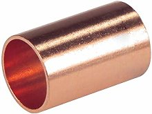 Pack of 10 End Feed Slip Coupling 15mm F x F