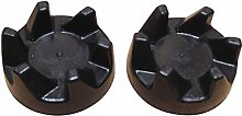 Pack of 2 Genuine Blender Rubber Clutch Couplers