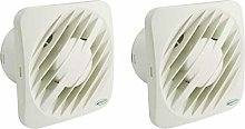 Pack of 2 x Greenwood Airvac AXS100 Extractor Fans