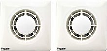 Pack of 2 x Vectaire A10/4T Extractor Fans with