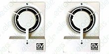 "Pack of 2 x Vortice 11630 Record M 10/4"" T"