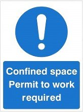Pack of 20 x Confined Space Permit To Work