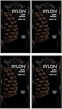 Pack Of 4 Dylon Fabric & Clothes Dye Hand Wash