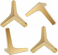 Pack of 4 Sofa Legs,Metal Triangle Furniture