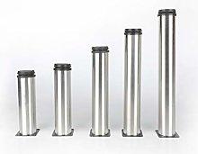 Pack of 4 Stainless Steel Adjustable Feet 200mm