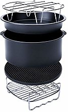 Pack of 5 6/7 Inch Round Air Fryer Accessories for