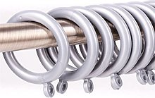 Pack Of 50 Curtain Rings - Fits Up To 35mm Poles -