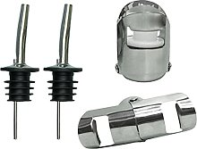 Pack of 6pcs Stainless Steel Freeflow Pourer