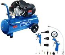 Pack SCHEPPACH - Compressor 50L - 2200W - HC53DC -