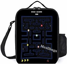 Pacman Casual Lunch Box Insulated Lunch Bag