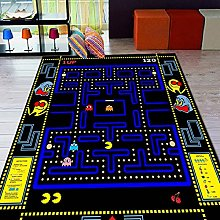 Pacman Patterned Rug, Pacman Rug, For Living Room,