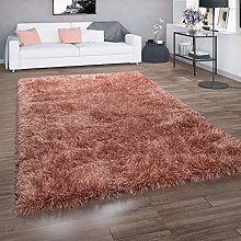 Paco Home Deep-Pile Rug For Living Rooms, Shaggy