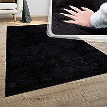 Paco Home Deep-Pile Rug, Shaggy For Living Room,