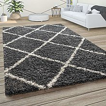Paco Home Living Room Rug, Area Shaggy Rug with
