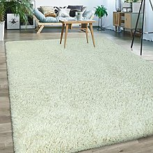 Paco Home Upcycling Deep Pile Rug Cuddly Modern