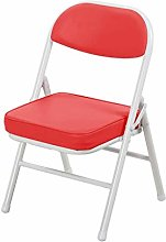 Padded Faux Leather Folding Chairs   Strong Steel