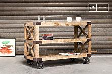 Paddington wooden kitchen trolley