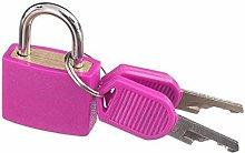 Padlock Door Lock 2 Small Padlock Set with Keys (2
