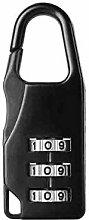 Padlock Door Lock Mini Password Lock for Luggage