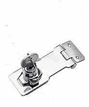 Padlock Hasp Staple with Knob Locking 2.5/3 / 4