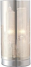 PAGAZZI Metro Touch Table Lamp Polished Chrome