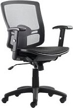 Paguera Mesh Back Operator Chair, Black, Free