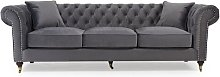 Pai 3 Seater Chesterfield Sofa Rosalind Wheeler