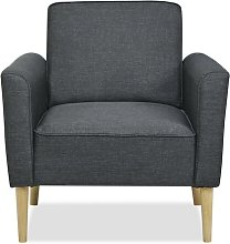 Paige Armchair Leader Lifestyle Upholstery: Dark