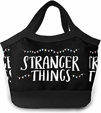 Paint C Stranger Things Lunch Bags Lunch Tote For