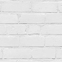 Painted Brick 10m x 52cm Wallpaper Mural East