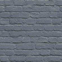 Painted Brick Pattern Wallpaper Faux Effect