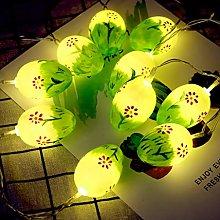 Painted Easter Egg 10 LEDs String Lights Fairy