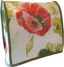 Painterly Large Poppy Floral PVC 4.8 Stand Mixer