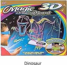 Painting Board, Magic 3D Drawing Board Children 3D