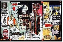 Painting Graffiti Jean Michel Basquiat Gift