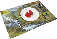 Paintings painting Landscape Pictures Table mat 4
