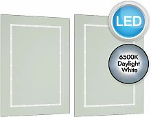 Pair of Battery Operated Rectangular LED