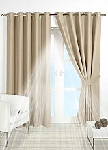 PAIR of BLACKOUT CURTAINS Super Soft Solid Thermal