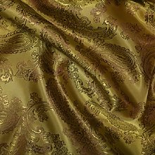 Paisley Jacquard Poly Viscose Dress Lining and