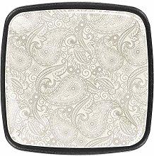 Paisley Pattern [4 PCS]Decorative Cabinet Wardrobe