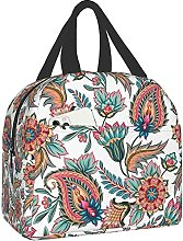 Paisley Pattern Lightweight Insulated Mini Lunch