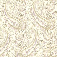 Paisley Penelope 10m x 52cm Wallpaper Roll Lily